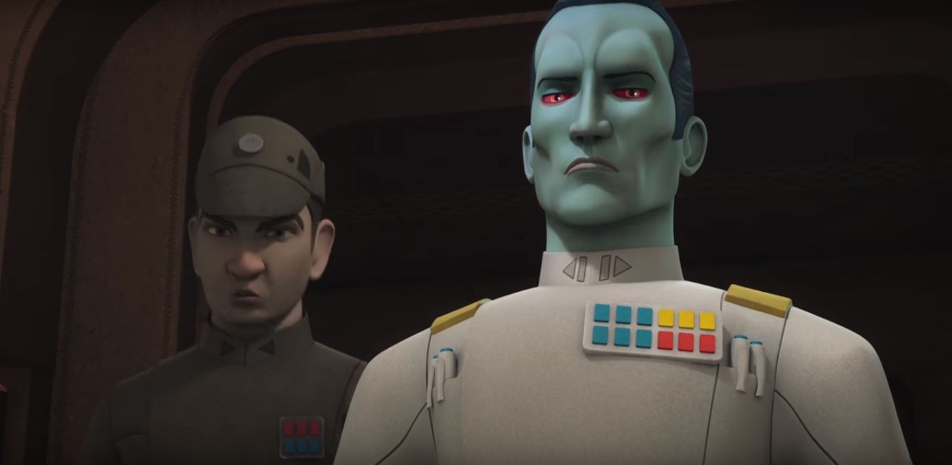 STAR WARS REBELS: Os rebeldes encaram o Grande Almirante Thrawn – Flynns